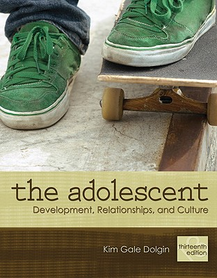 The Adolescent By Dolgin, Kim Gale